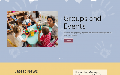 The New North Bristol Children's Centres Website