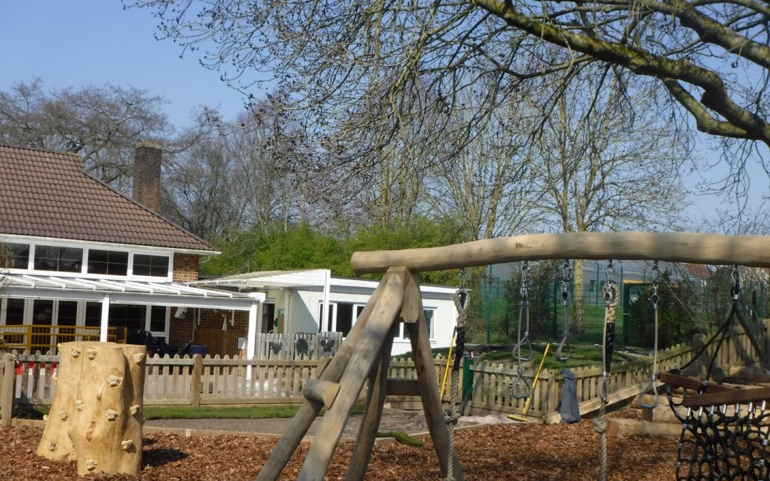 We're nearly there with our outside play space improvements