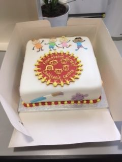 Our Lovely FANS Cake